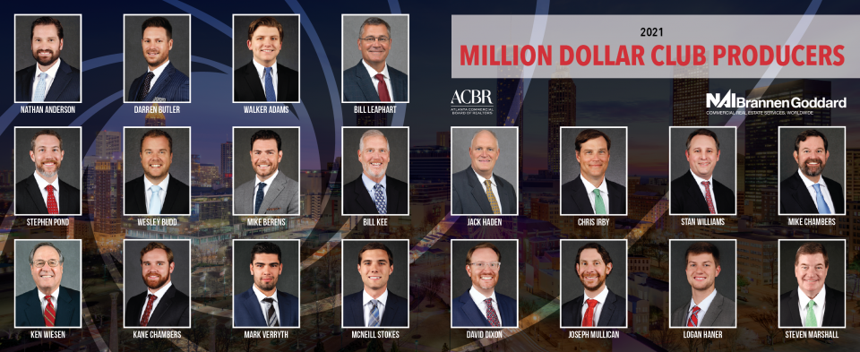 2021 Million Dollar Club Top Producers