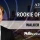 Walker Adams Named Rookie of the Year