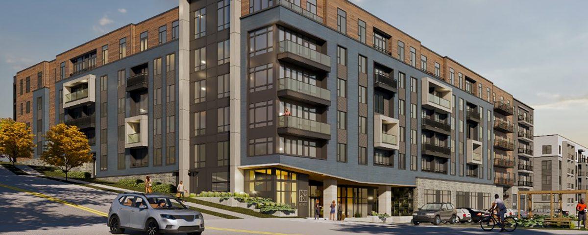 Novel West Midtown, a 340-unit apartment complex